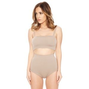 Naked Wardrobe Taupe Barely There Set